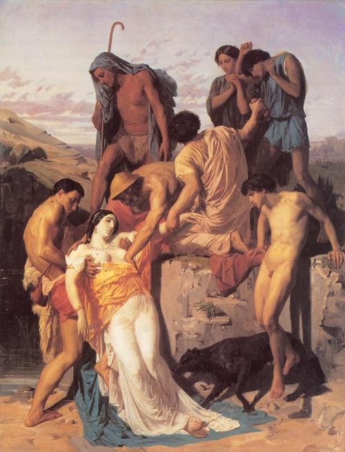 Zenobia Found by the Shepherds, 1850