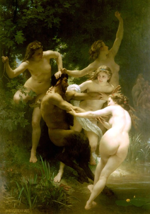 Nymphs and the Satyr