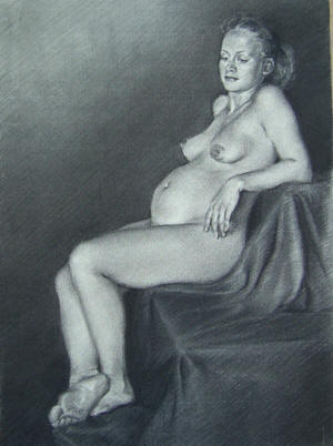 Art Nude Pregnant 106